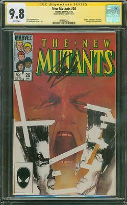 New Mutants 26 CGC SS 9.8 Stan Lee Signed 1st Legion X Men Movie TV Show