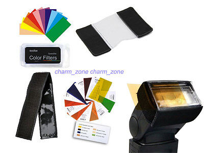New Godox 7 Color Balance Effect Filter Kit for Speedlite Flash Photography