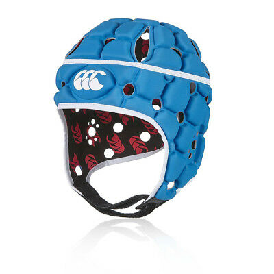 Canterbury Ventilator Mens Womens Blue Sports Rugby Protective Headguard Hat