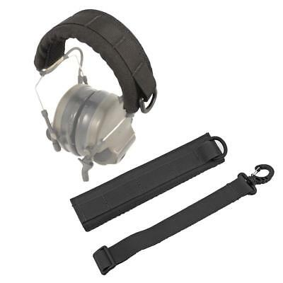 Advanced Modular Headset Cover Molle Headband for General Earmuffs /Black