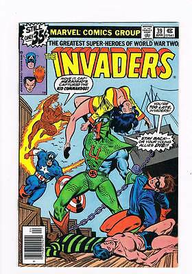 Invaders # 39 Back from the Grave ! grade - 8.5 scarce book !!