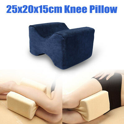 Memory Leg Pillow Cushion Hips Knee Comfort Support Pain Relief Washable Home