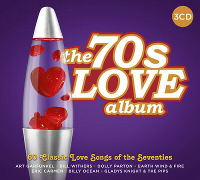 Various Artists : The 70s Love Album CD (2017) ***NEW***