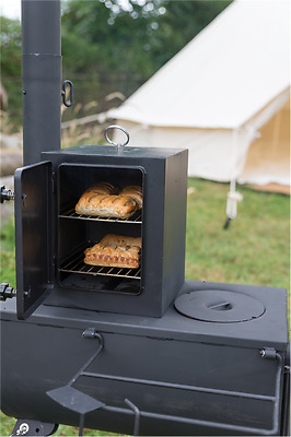 Frontier stove Mini Oven For all Portable Woodburner stoves outdoors  glamping