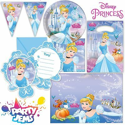 Disney Cinderella Party Children's Birthday Party Decorations Tableware
