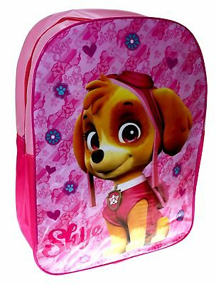 Paw Patrol 'Skye' Girls Junior School Bag Rucksack Backpack Brand New Gift