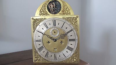 Early 18th Century London Brass Dial Longcase Clock Movement