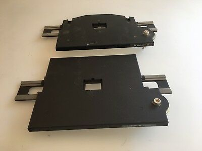 Lot Of Two Beseler 35mm Negatrans Negative Carriers One Working One Needs O-ring