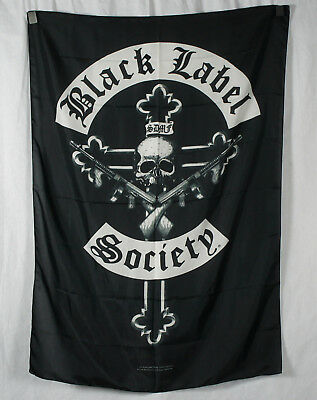 Authentic BLACK LABEL SOCIETY Crucifix Quality Silk-Like Fabric Poster Flag NEW