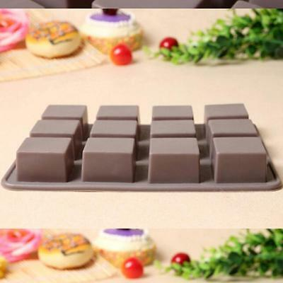 Silicone Chocolate Mold Cake Decor Candy Cookies Baking Mold Ice Cube Mould 6A