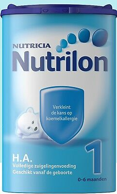 4 X Nutrilon HA 1 (4x 750 gram) -100% original Dutch Baby Powder Milk