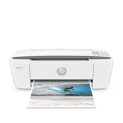 HP DeskJet 3755 All-in-One Wireless Printer - Stone 889894728678 Scan and Copy