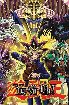 YU-GI-OH! ~ COLLAGE 24x36 CARTOON POSTER ~ NEW/ROLLED!
