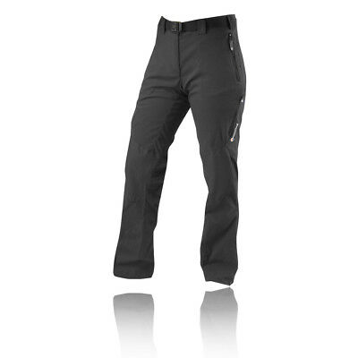 Montane Terra Ridge Womens Black Long Outdoors Casual Hiking Pants Bottoms