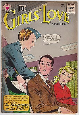 Girls Love Stories (Nov 1961) Romita Sr. Cover G