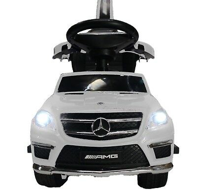 4-in-1 Mercedes GL63 Stroller Ride-On Toy Push Car - for Baby Toddler Safety