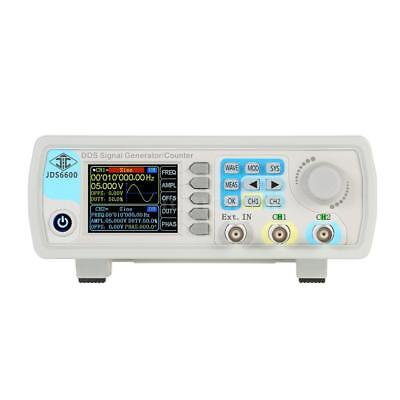 JDS6600 15MHz Digital Dual-channel DDS Function Signal Generator Counter P7O8