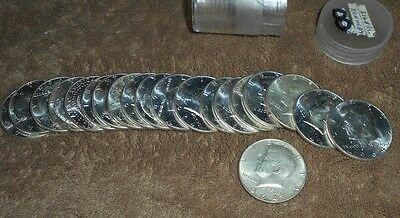 $10 Roll 1964 KENNEDY HALF DOLLARS 90% Silver  20 Coins Lot 8