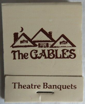 Vintage The Gables Mass. Unused Matchbook                    (Inv14340)