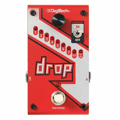 NEW! DigiTech The Drop Polyphonic Drop Tune Pedal