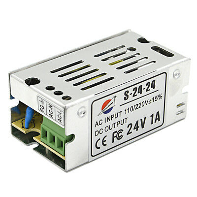 Input 100~220V 24V 1A Regulated Switching Power Supply for Home Appliances