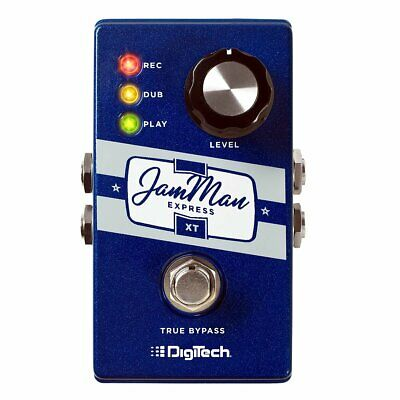 NEW! DigiTech JamMan Express XT Compact Stereo Looper with JamSync