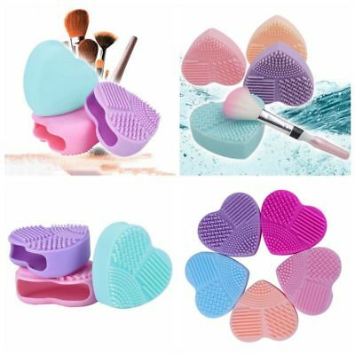 Silicone Makeup Brush Cleaner Makeup Mat Washing Scrubber Board Cosmetic Tools