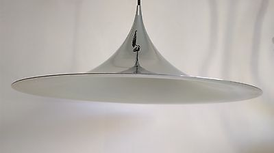 BONDERUP THORUP fog morup semi pendant chrome lamp danimarca as louis poulsen