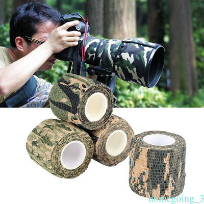 Kombat Army Camo Wrap Rifle Hunting Airsoft Camouflage Stealth Tape Outdoor
