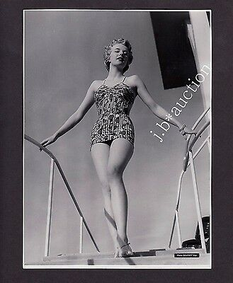 Mode WOMAN IN SWIMSUIT FRAU IM BADEANZUG Fashion * Vintage 50s SEUFERT Photo #3