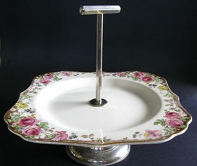 Royal Doulton ENGLISH ROSE Cake Stand D.6071