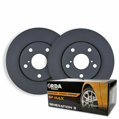 Holden Apollo JM JP 3.0L V6 3/1993-5/1997 FRONT DISC BRAKE ROTORS + PADS RDA735