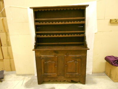 French Antique cupboard Dresser 1700s