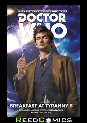 Doctor Who 10Th Doctor Facing Fate Volume 1 Breakfast At Tyrannys Hardcover