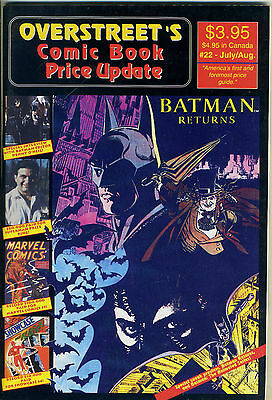 Overstreet's Comic Book Price Update #22 (July-Aug 1992)