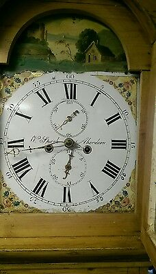 Antique longcase clock. Spark Aberdeen