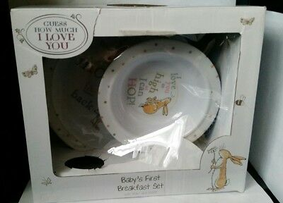 Guess How Much I Love You Babys First Breakfast Set Melamine