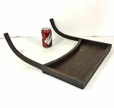Antique/Vintage Oak High Chair Wood FOOD TRAY Bentwood Furniture Part