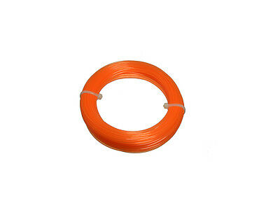 PK Of 8 Nylon Strimmer Line Cord 1.25Mm X 15 Metres For Electric Strimmers