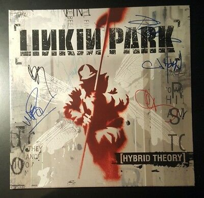 Chester Bennington Linkin Park Band Signed Autograph Album