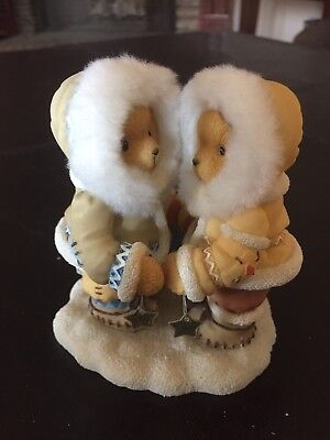 Cherished Teddies Figurine Norbit And Nyla