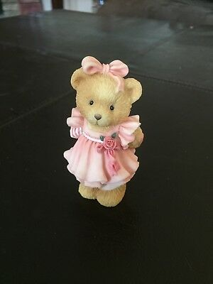 Cherished Teddies Figurines Younger And Older Daughter