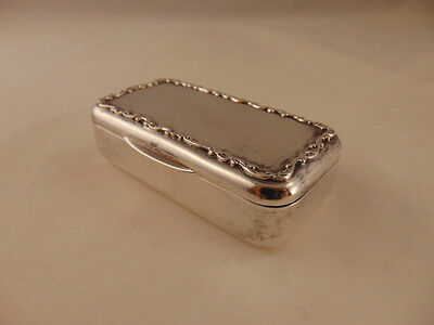 Vintage Sterling Silver Snuff Box - Gorham Early 1900s