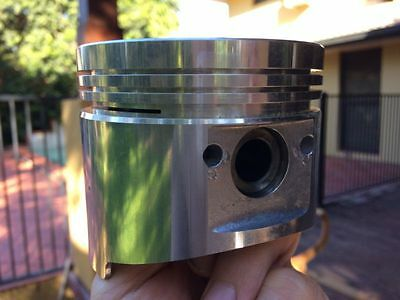 Sterling flat top pistons suit Mitsubishi astron 2.6L 4G54 engine