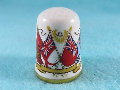 CAVERSWALL Thimble - Falkland Islands - 1982