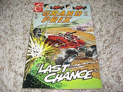 Grand Prix #31 (Charlton, 1970) – Final Issue – Hot Rod Racers – FN+