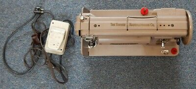1956 Singer Slant Needle Long Bed 301A Portable Sewing Machine R14565