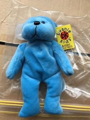 Beanie Kids - Oliver The Baby Blue Bear Bk 083
