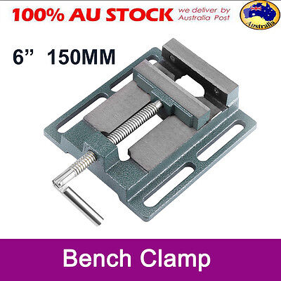 "6"" 150MM Vise Clamp Jaw Drill Press Bench Woodwork Drilling Machine Carving Tool"