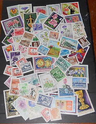 Hungary Stamps A Bulk Lot Off Paper